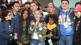 Parkland Shooting Survivor Emma Gonzalez Delivers A Moving Speech At D.C.'s March for Our Lives Event