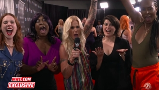 WWE Superstars Will Face 'GLOW' Cast Members On An Episode Of 'Drop The Mic'