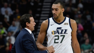 Rudy Gobert Is Very Glad The Jazz Didn't Try Tanking This Year