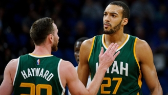 Rudy Gobert Is Still Upset About How Gordon Hayward Ignored Him During Free Agency