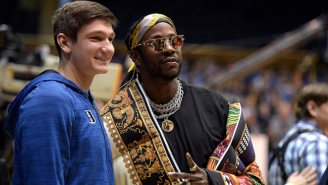 Grayson Allen Got To Meet 2 Chainz Before His Final Duke Home Game