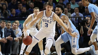 Grayson Allen Was Up To His Old Tricks Again On This Questionable Play Against UNC