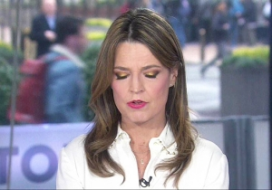 Savannah Guthrie Delivered An Adorable Apology After Getting Caught Saying 'Sh*t' Live On 'Today'
