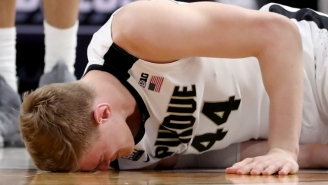 Purdue Center Isaac Haas Will Miss The Remainder Of The NCAA Tournament With A Fractured Elbow