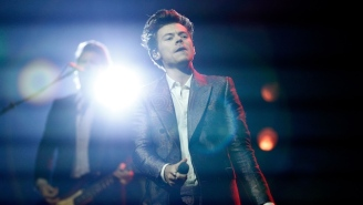 Harry Styles May Have Teased A New Album By Performing Two New Songs Live