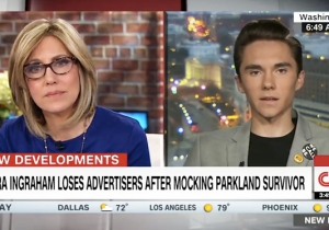 Parkland Student David Hogg Tells CNN That He Doesn't Accept Laura Ingraham's Apology