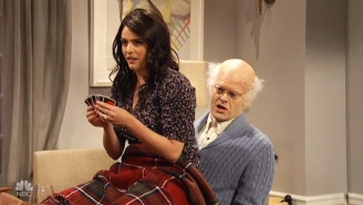 The Ladies Of 'SNL' Fight Off Breaking While Dealing With Bill Hader Playing A Very Sexual Old Man