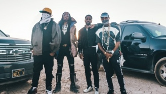 Mike WiLL Made-It, Rae Sremmurd, Big Sean, And Quavo Hit The Desert For Their 'Aries (YuGo) Part 2' Video