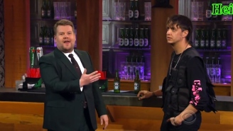 Julian Casablancas And James Corden Have No Chemistry, So Their Interview Is A Cringey Trainwreck