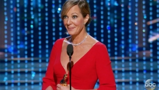 Allison Janney Made The Perfect Joke To Start Her Oscar Acceptance Speech