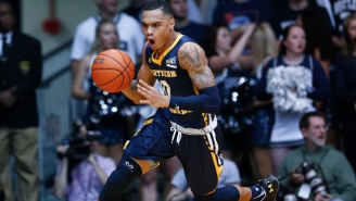 Northern Colorado's Jordan Davis Submitted A Dunk Of The Year Nominee During Conference Tournament Week