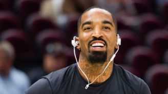 J.R. Smith Was Suspended For Throwing A Bowl Of Soup At A Cavs Assistant Coach