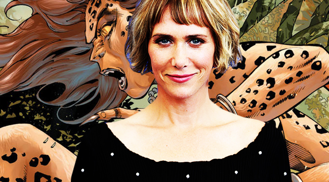 kristen wiig wonder woman 2 cheetah