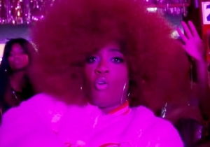 Kamaiyah's Vibrant 'Slide' Video Is A Brilliant Blacklight Roller Rink Party
