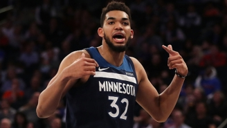Karl-Anthony Towns Is Starting To Look Like A Superstar Again
