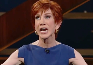 Kathy Griffin Jokes About Being Given A Second Chance With Her Infamous Trump Photo: 'I'd Do Mike Pence'