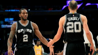 Manu Ginobili Doesn't Think Kawhi Leonard Will Return To The Spurs This Year