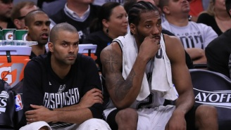 Tony Parker Says His Quad Issues Were 'A Hundred Times Worse' Than Kawhi Leonard's Injury