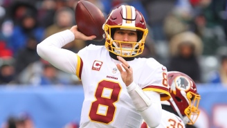 Kirk Cousins Is Reportedly Signing A 3-Year, Fully-Guaranteed Deal With The Minnesota Vikings