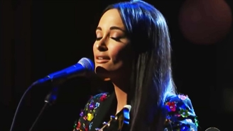 Kacey Musgraves Serenades 'The Late Show' Audience With A Tender And Intimate Performance Of 'Slow Burn'