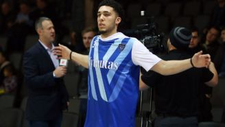LiAngelo Ball Dropped 72 Points In Lithuania Hours After Declaring For The NBA Draft