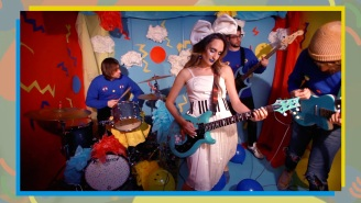 Speedy Ortiz's Zany Video For 'Lean In When I Suffer' Calls Out Phony Allies
