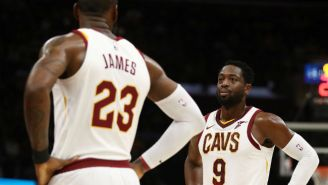 Dwyane Wade Believes LeBron James Is 'Arguably The Greatest' Basketball Player Ever