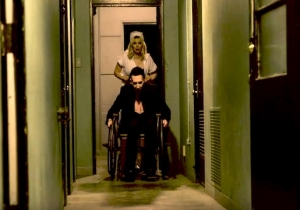 Courtney Love Is A Creepy Nurse In Marilyn Manson's Dark Video For 'Tattooed In Reverse'