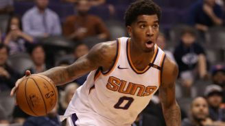 Things Got Chippy Between The Suns And Jazz After Marquese Chriss Blindsided Ricky Rubio