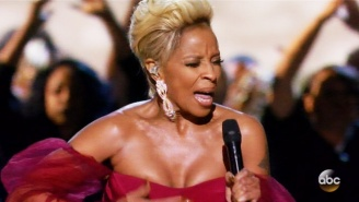Watch Mary J. Blige Give An Electrifying Performance Of 'Mighty River' From 'Mudbound' At The 2018 Oscars