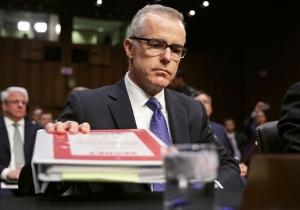 Report: Fired Deputy FBI Director Andrew McCabe Kept Memos Documenting His Conversations With Trump