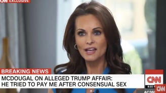 Karen McDougal Claims Trump Tried To Pay Her After Their First Alleged Sexual Encounter