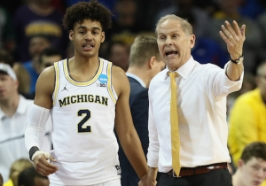 Michigan Hit An Insane Buzzer-Beater Three To Beat Houston And Advance To The Sweet 16
