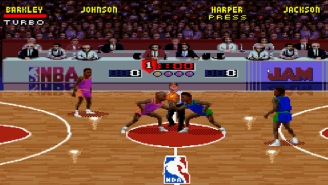 We Had Tim Kitzrow, The Voice Of 'NBA Jam,' Give Video Game-Style Calls For Today's NBA