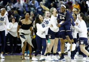 Notre Dame's Final Four Victory Over UConn Was College Basketball's Most Bonkers Game Of The Year