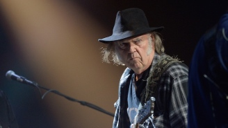 Neil Young Is Currently Writing A Sci-Fi Novel And The Premise Sounds Insane