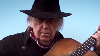 The Trailer For Neil Young's Western Movie 'Paradox' Is Here, And It Doesn't Look Super High-Budget