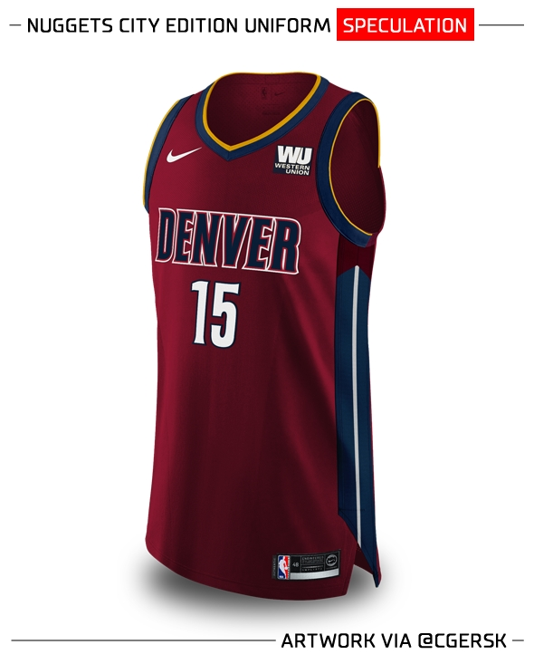 brand new e4978 55204 The Grizzlies And Nuggets Will Reportedly Make Color And ...