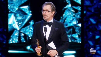 Gary Oldman Thanked The Usual Folks For His Best Actor Oscar, But Saved His Best Thanks For His Mother
