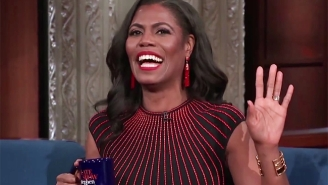 Stephen Colbert Tries To Pry Some Answers From Omarosa About Her Time In The Trump White House