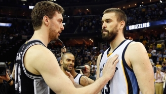 Pau Gasol Says It's 'A Good Sign' His Brother Marc Is Upset With The Grizzlies