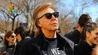 An Emotional Paul McCartney Remembers John Lennon At The March For Our Lives Rally In New York