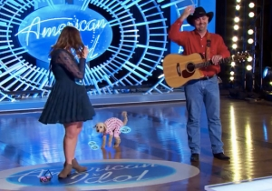 A Contestant Brought Her Dog On 'American Idol' Only To Have It Poop All Over Her Chance At Stardom