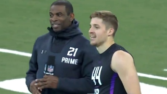 Deion Sanders Lost His Mind After Watching A Safety Prospect Run The 40-Yard Dash In 4.34 Seconds