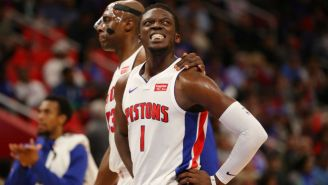 Reggie Jackson's Next Hurdle In Rehab Is Playing 1-On-1 Against The Pistons' Video Coordinator