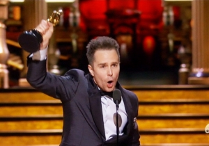 Sam Rockwell Wins Best Supporting Actor Oscar For 'Three Billboards Outside Ebbing, Missouri'