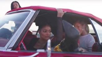 Rae Sremmurd Joyride Around Some Mean Curves With Juicy J In Their High-Octane 'Powerglide' Video