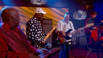 Buddy Guy Busted Out A Fiery Rendition Of Jimi Hendrix's 'Red House' With Experience Bassist Billy Cox