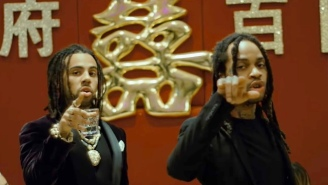 Vic Mensa And Valee Showcase An Old School, Back-And-Forth Flow In The Wavy Video For 'Dim Sum'
