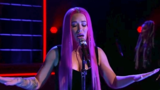 Iggy Azalea Continues Her Comeback With A Radiant Late Night Performance Of 'Savior'